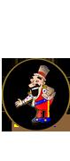 Kreskówkowy mistrz cyrkowy