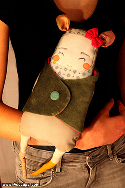 Handcrafted clara the doll for sale.