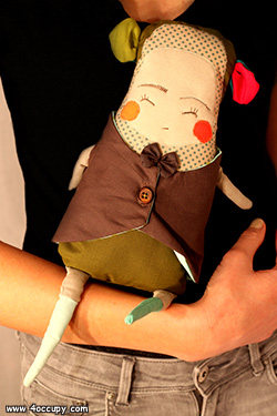 Handcrafted noah the doll for sale.