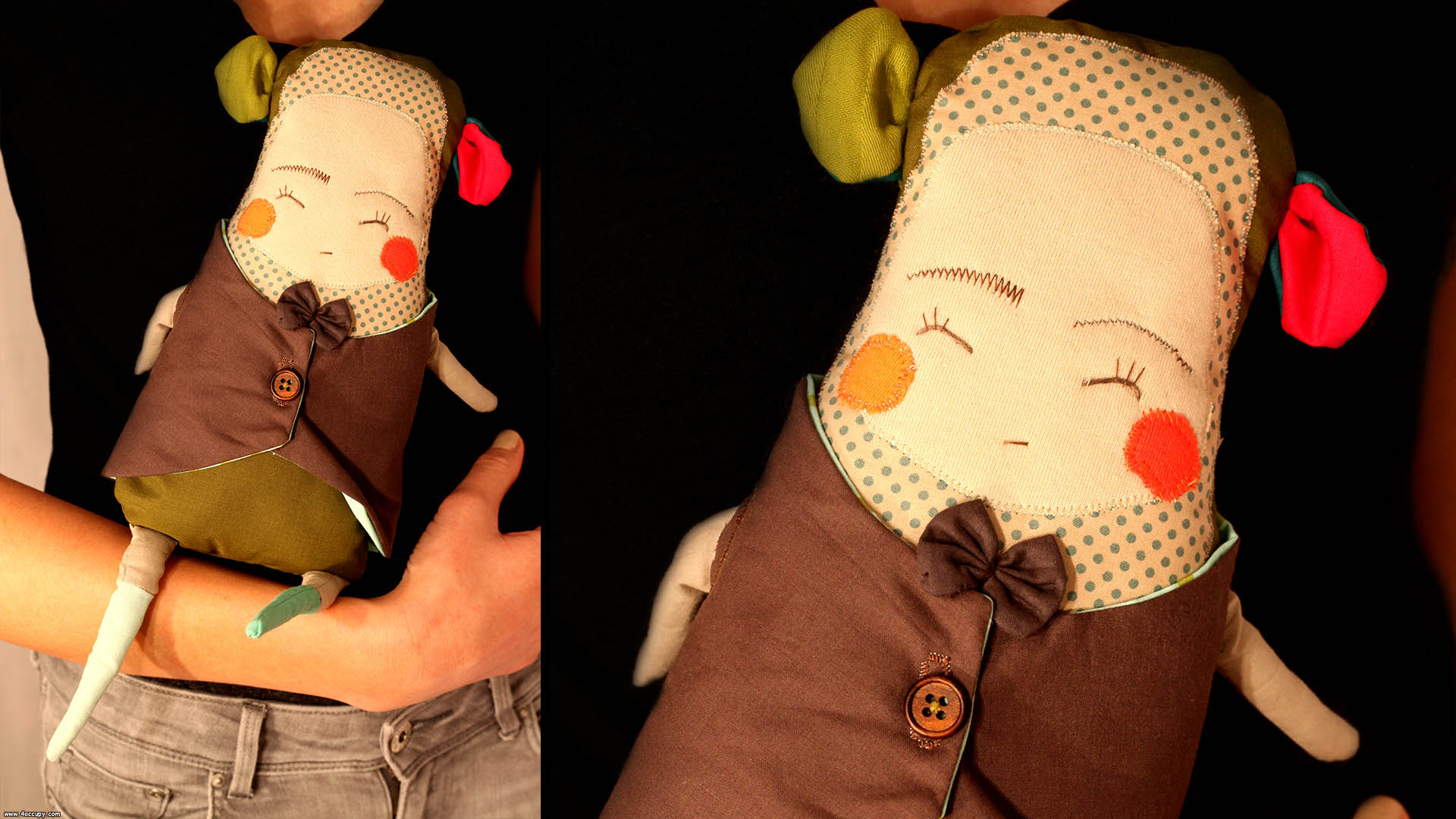 Handcrafted noah the doll