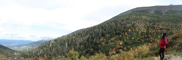 A view of the Karkonosze area
