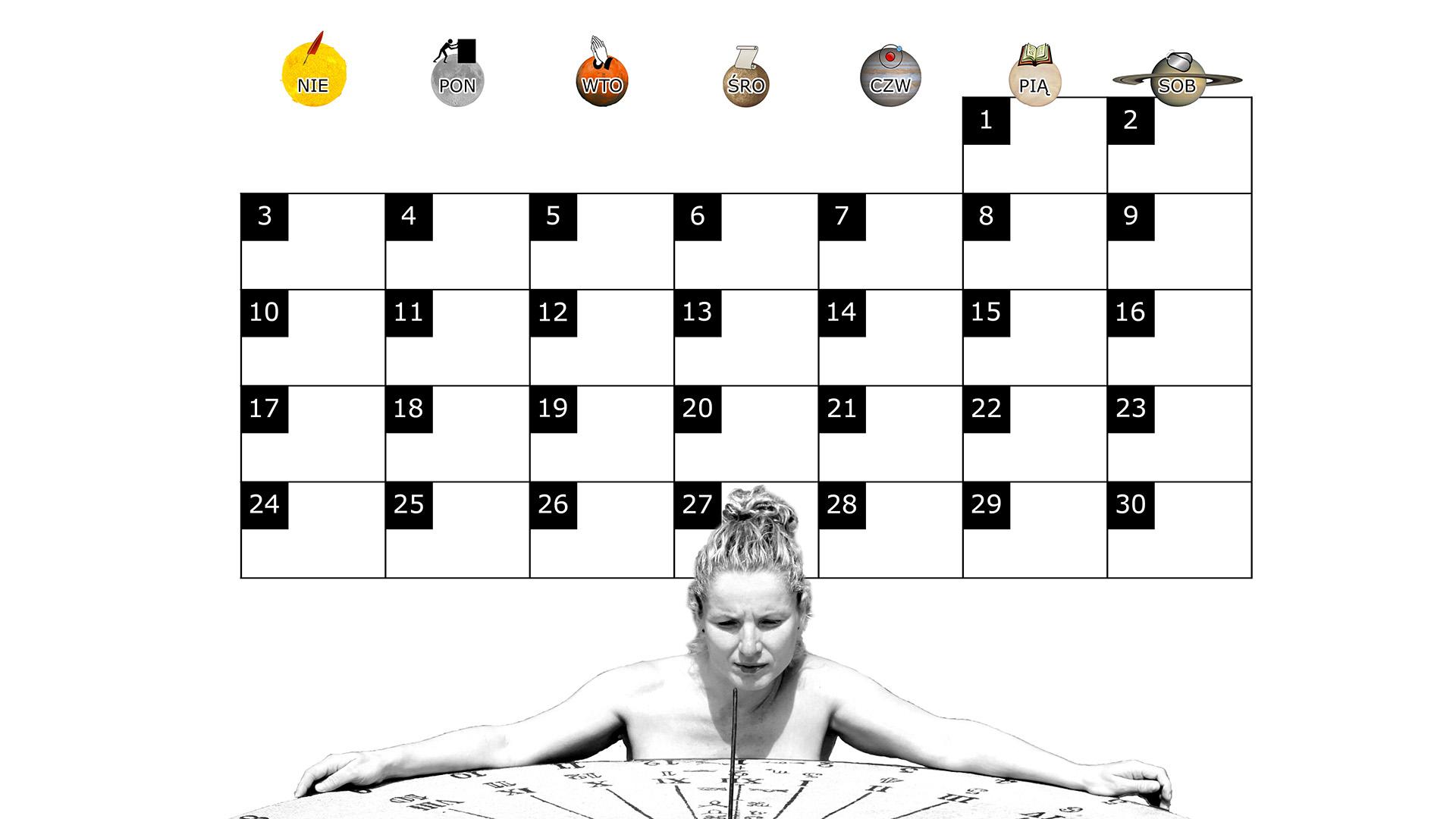 Miesięczny kalendarz na pulpit na listopad 2013 na białym tle